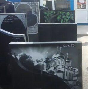 Памятники на могилу фото Тюмень