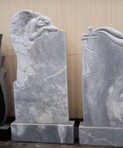 памятники из мрамора Тюмень - индивидуальный дизайн