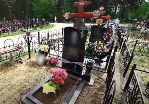 Памятник из гранита в Тюмени на могилу